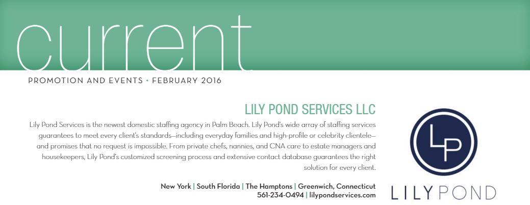 Palm Beach Illustrated February 2016